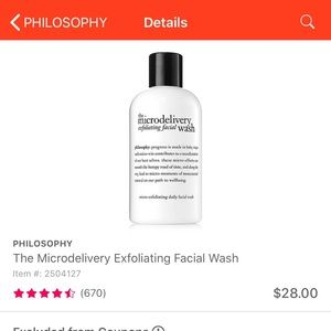 The Microdelivery Exfoliating Facial Wash (8oz)